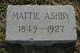 Martha F. <I>Carey</I> Ashby