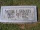 Pattie <I>Farris</I> Gentry