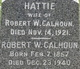 Profile photo:  Hattie Calhoun