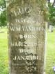 Lucy Ann <I>Morgan</I> Vanhook