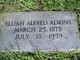 Elijah Alford Adkins