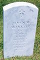 John Wesley Webster, Sr