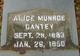 Profile photo:  Alice Logan <I>Munroe</I> Cantey