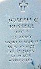 Joseph C Russell