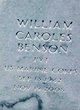 William Caroles Benson
