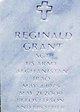 """Reginald """"Reggie"""" Grant"""