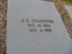 """James Elijah """"J E"""" Culpepper"""