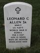 Profile photo:  Leonard Charles Allen Sr.