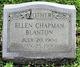 Profile photo:  Ellen <I>Chapman</I> Blanton