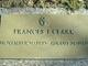 Mrs Frances Isabella Clark