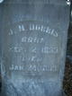 Martha Jane <I>Norton</I> Dorris