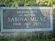 Sabina Ruchla <I>Breiterman</I> Mizne
