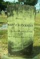 Mary E. <I>Barringer</I> Alexander