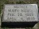 Mary <I>Morgenstein</I> Meinte
