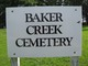Baker Creek Cemetery