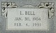 Profile photo:  L. <I>Bell</I> Adams