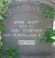 Anna Mary <I>Nicklaus</I> Zehntner