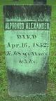 Alphonso Alexander