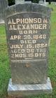 Alphonso Nathaniel Alexander