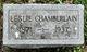 Leslie Chamberlain