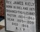 Rev James Kiely
