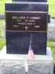 Profile photo:  Millard P. Asbury