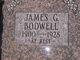 James G Bodwell