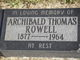 Archibald Thomas Rowell