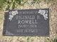 Reginald H Rowell