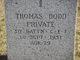Pvt Thomas Dodd
