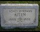 Profile photo:  Agnes <I>Hoffman</I> Allen