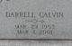 Darrell Calvin Agee