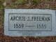 Archie Freeman