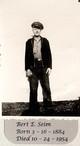 "Bertie Edward ""Uncle Bert"" Seim"
