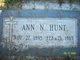 Ann Cecelia <I>Nolan</I> Hunt