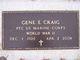 """Gene Elroy """"Bob"""" Craig"""