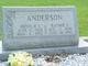 Raymie Frances Jane <I>Carson</I> Anderson
