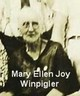 Mary Ellen <I>Joy</I> Winpigler