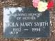 Viola Mary <I>McPhillips</I> Smith