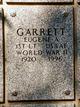 Profile photo:  Eugene A Garrett