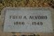 Fred Adelbert Alvord