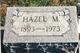Hazel Margaret <I>Marks</I> Mooney