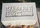 Margaret <I>Adair</I> Marks