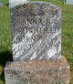 Profile photo:  Anna Bell <I>Johnson</I> Brownfield