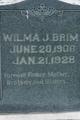 Wilma J Brim