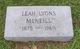 Leah <I>Lyons</I> McNeill