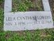 Lela Cynthia <I>Marcrum</I> Flowers