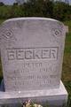 Catherine Wilhelmina <I>Schreck</I> Becker