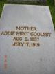 Profile photo:  Addie <I>Hunt</I> Goolsby