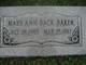 Mary Ann <I>Back</I> Baker